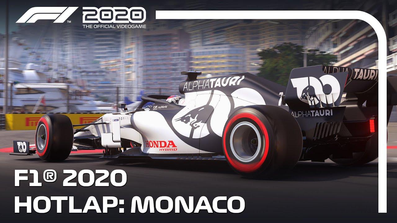 Codemasters já divulgou a gameplay no Mónaco do novo F1 2020