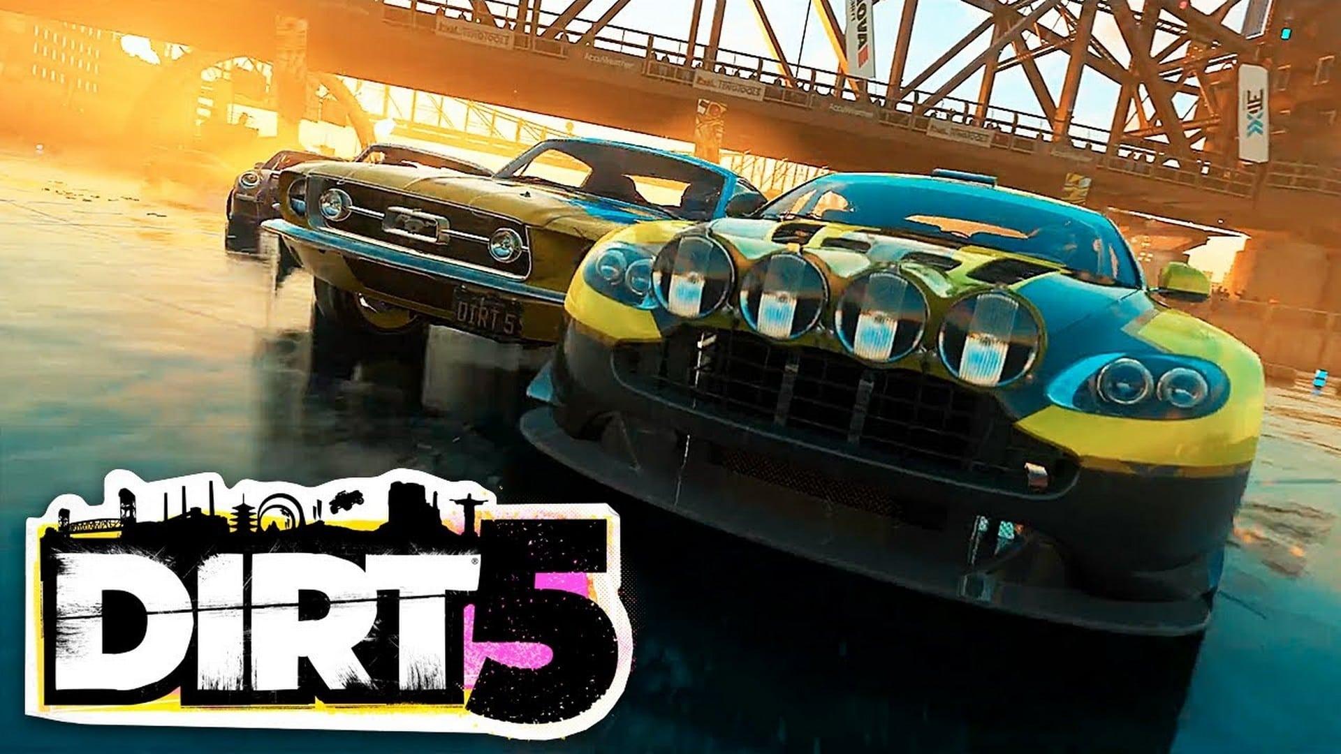 DIRT 5 estreia na PS4 dia 9 de Outubro