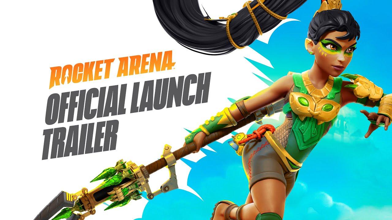 Rocket Arena já tem trailer de lançamento