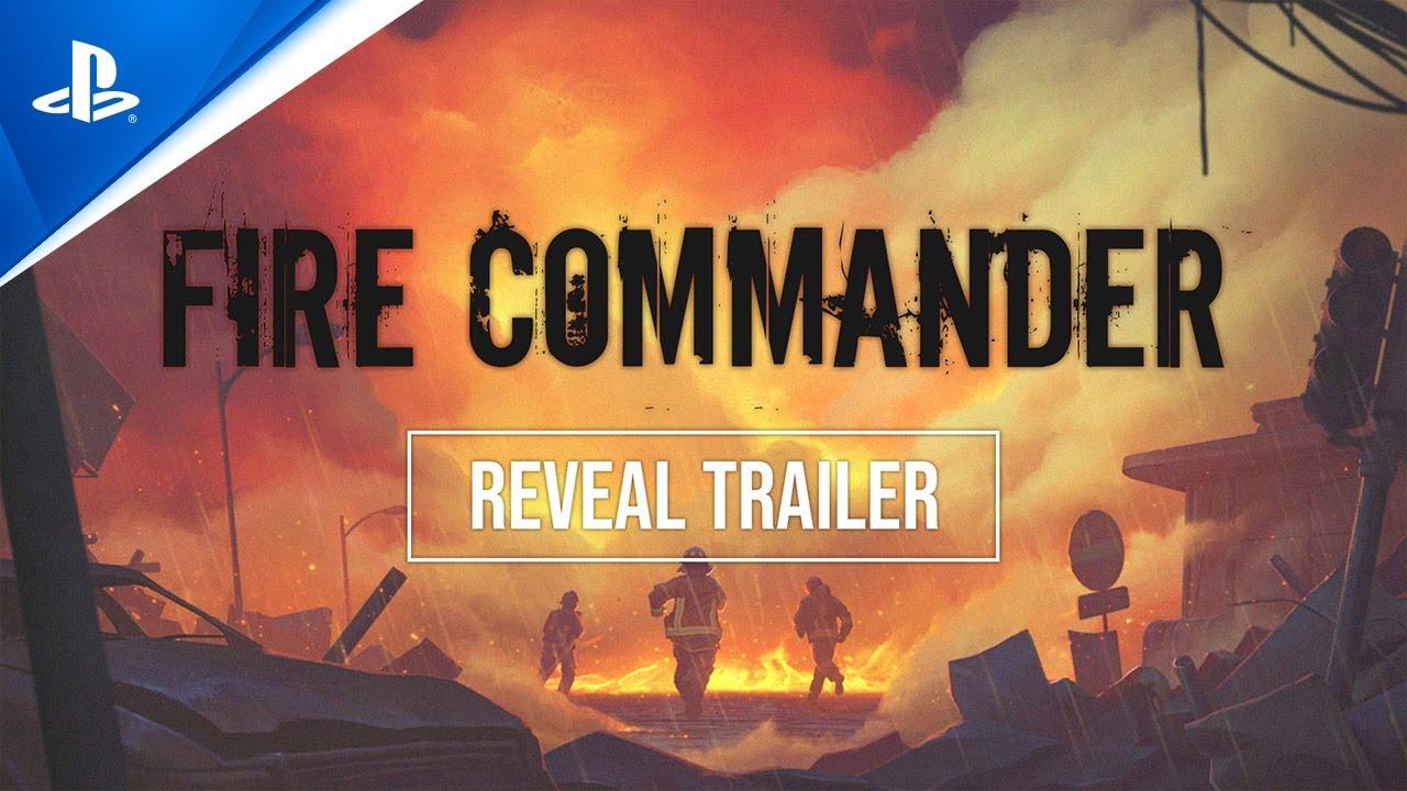Fire Commander é anunciado para a PS4 e PS5.