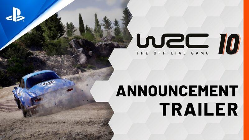 WRC 10 chega em setembro a PlayStation 5 e a PlayStation 4