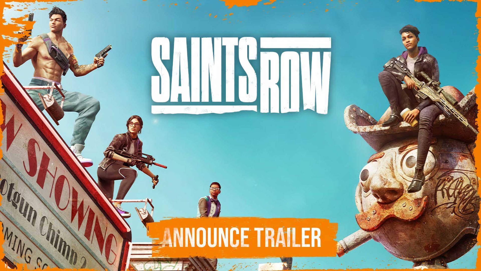 Trailer de Saints Row já saiu!!