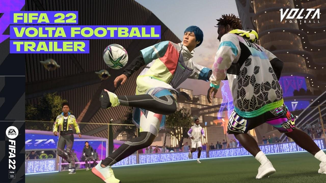 Trailer de VOLTA Football do FIFA 22 destaca estilo dos dribles